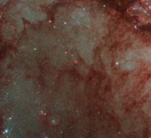 Hubble Space Telescope Print 0028 - Cosmic Ice Sculptures - Dust Pillars in the Carina Nebula - hs-2009-29-b-full_jpg Sticker
