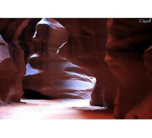 Antelope Canyon in Winter Photographic Print