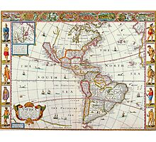 Old map 10 Photographic Print