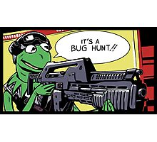 """""""It's a bug hunt!!"""" Photographic Print"""