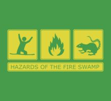Hazards of the Fire Swamp Kids Tee