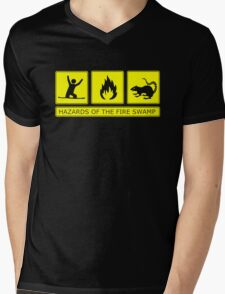 Hazards of the Fire Swamp Mens V-Neck T-Shirt