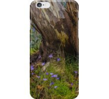 Bluebells and Snow Gum. iPhone Case/Skin