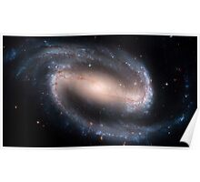 Hubble Space Telescope Print 0032 - Barred Spiral Galaxy NGC 1300  - hs-2005-01-a-full_jpg Poster