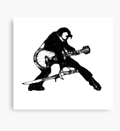 The Velvet Assassin Canvas Print