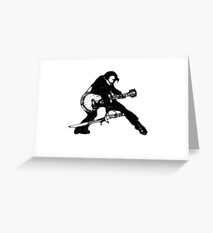The Velvet Assassin Greeting Card