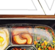 TV Dinner Sticker