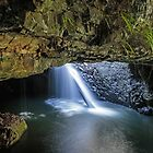 Natural Arch - Springbrook NP Qld Australia by Beth  Wode