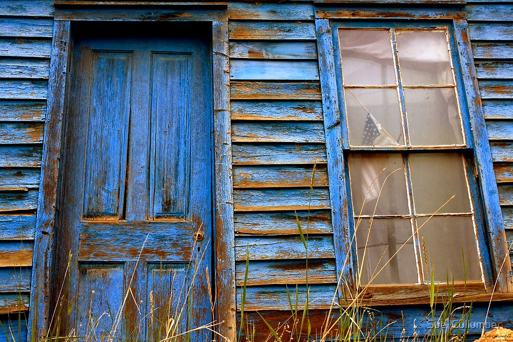 Americana Blue by Sue  Cullumber