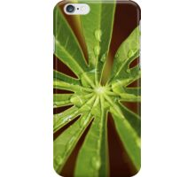 Centre of the Green Leaf iPhone Case/Skin