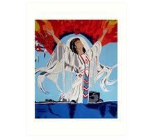 Call To The Spirits Art Print