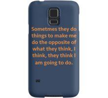 sassy Thomas Samsung Galaxy Case/Skin
