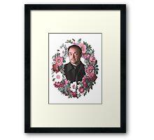 Crowley Wreath Framed Print