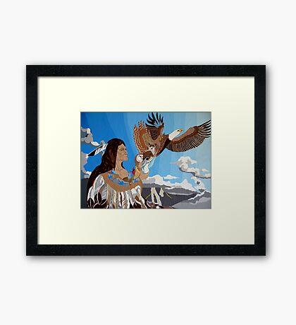 Chief Of Flight Framed Print