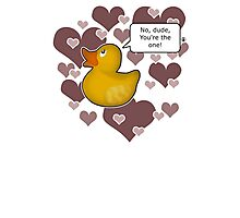 ♥ Rubber Ducky ♥ -girly Photographic Print