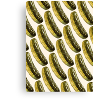 Pickle Pattern Canvas Print