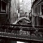 From a Bridge by Venice