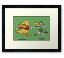 For the love of the pot! Framed Print