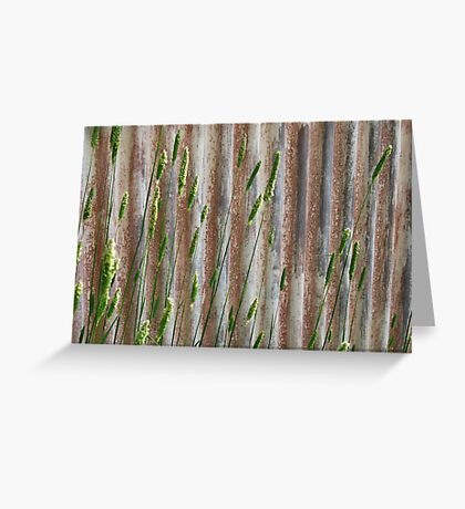 Iron and Nature Greeting Card