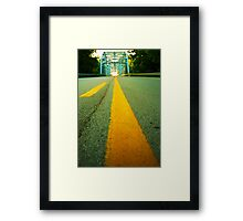 Why Don't We Do It In The Road? Framed Print