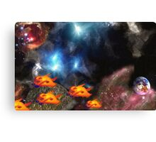 Phase Shifters Canvas Print