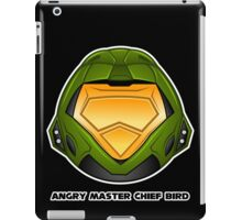 Angry Master Chief Bird iPad Case/Skin