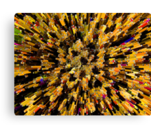 """""""Over-Crowded"""" Canvas Print"""