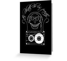 Til Death Do Us Party - light Greeting Card