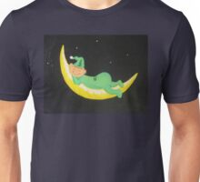 The Green Man in the Moon Unisex T-Shirt