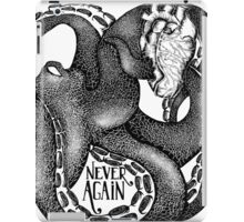 Never Again iPad Case/Skin