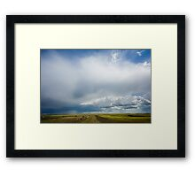 The Coming Rains Framed Print