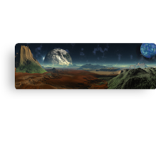 Gate Worlds Canvas Print