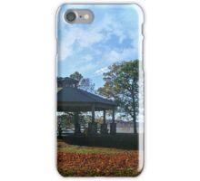 Gazebo By the Hudson River, Kingsland Point Park iPhone Case/Skin