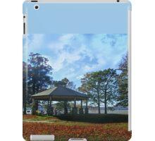 Gazebo By the Hudson River, Kingsland Point Park iPad Case/Skin