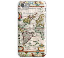 Old map 30 iPhone Case/Skin