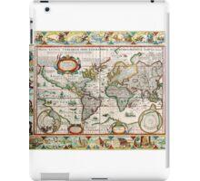 Old map 30 iPad Case/Skin