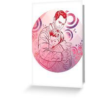 Community: Jeff & Annie Hug Greeting Card