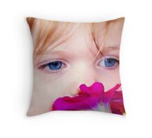 All The Pretty Flowers Throw Pillow
