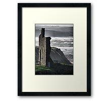 Ballybunion Castle and the Spring Tide Framed Print