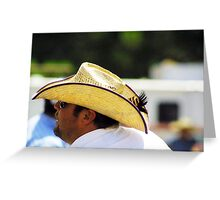 Cowboy Style Greeting Card
