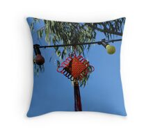 China in Oz Throw Pillow