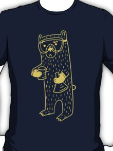puzzled science bear T-Shirt