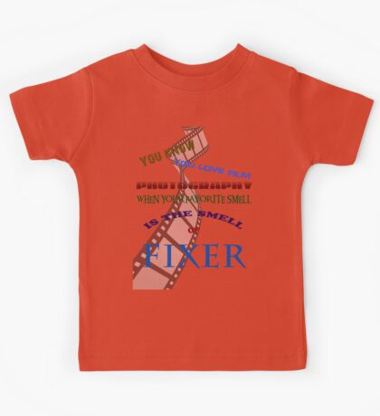 Smell the fixer Kids Tee