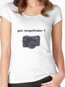 got rangefinder? Women's Fitted Scoop T-Shirt