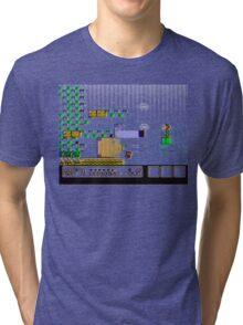Fading Plumber Tri-blend T-Shirt