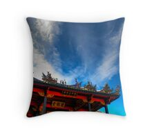 Penang clan temple Throw Pillow