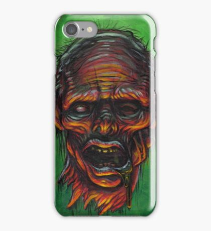 Severed Zombie Head iPhone Case/Skin