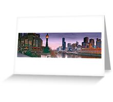 Morning in Melbourne Greeting Card