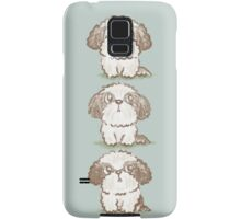 Three Shih Tzu Samsung Galaxy Case/Skin