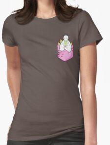 Pocket Princess Kaguya Womens Fitted T-Shirt